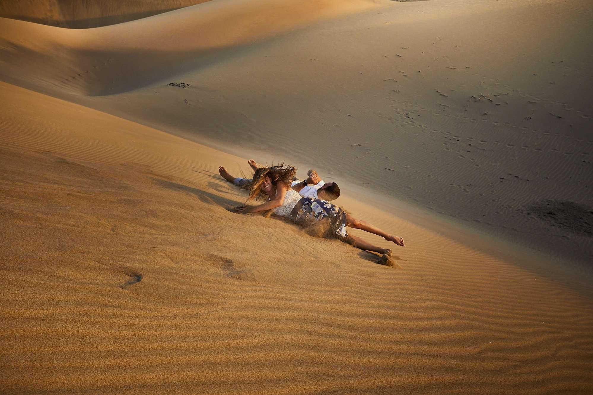 Sesión preboda en las dunas